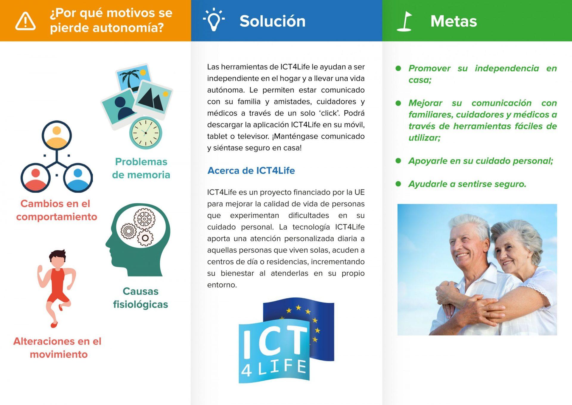 ICT4Life patient leaflet_ESP