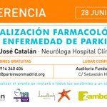 """Conferencia """"Actualización farmacológica en la enfermedad de Parkinson"""""""