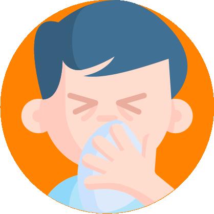 Toser y estornudar